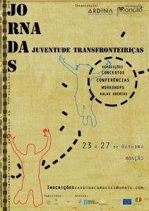 Cartaz 2013 Jornadas Transfronterizas de la Juventud