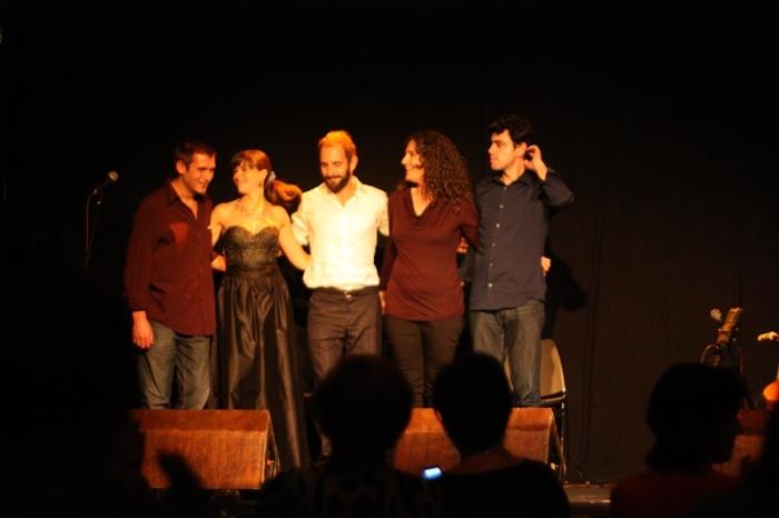 Filipe Sousa, Ana Pinhal, Chico Almeida, Carolina Bávia y Nuno Estevens.