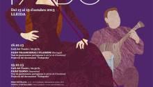 II Festival Internacional de Fado de Cataluña. Del 15 al 19 de octubre. Lleida
