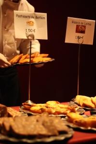 Pastéis de Belem, Salame, Rissóis, Pastéis de Bacalhau