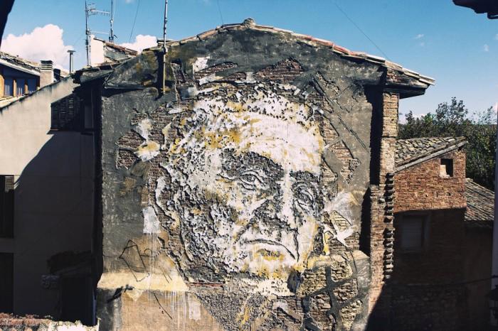 Tudela de Navarra. Fuente: www.vhils.com